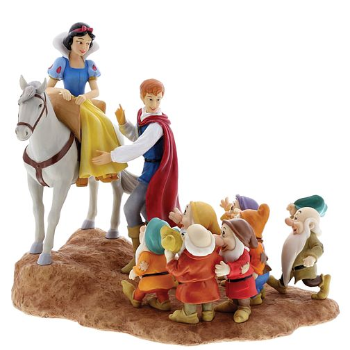 "Disney Enchanting ""A Joyful Farewell"" Snow White Figurine - Product number 4180887"