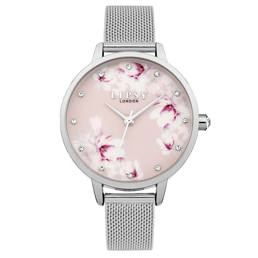 Lipsy Ladies' Silver Bracelet Watch - Product number 4181344