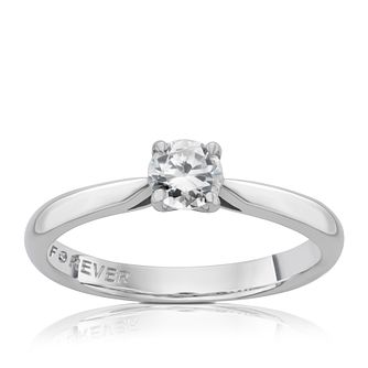The Forever Diamond Platinum 0.33ct Ring - Product number 4183533