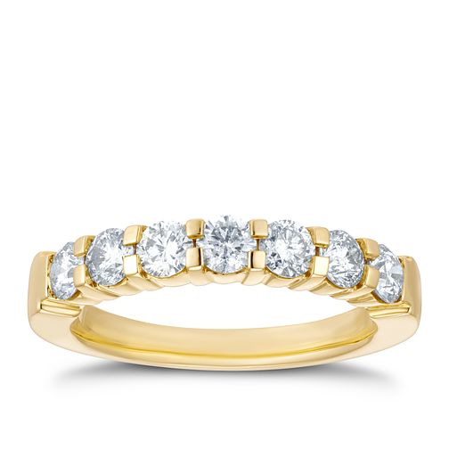 18ct Yellow Gold 1ct Diamond Eternity Ring - Product number 4200020