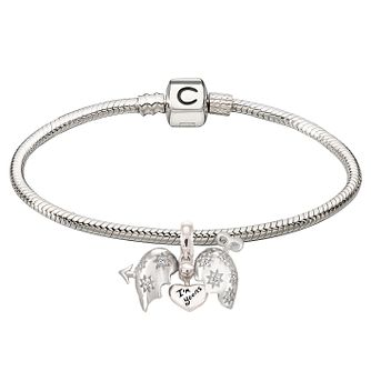Chamilia Sterling Silver Cupid's Arrow Bead Bracelet - Product number 4219279