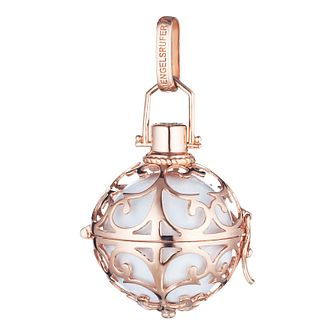 Angel Whisperer Small Rose Gold White Chime Pendant - Product number 4219511