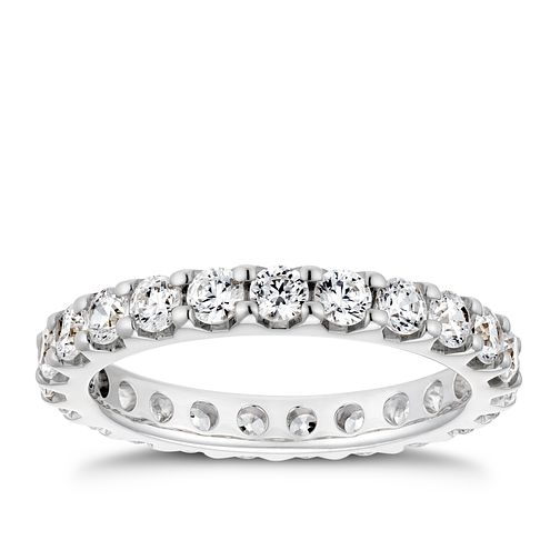 18ct White Gold 1.5ct Diamond Eternity Ring - Product number 4219953
