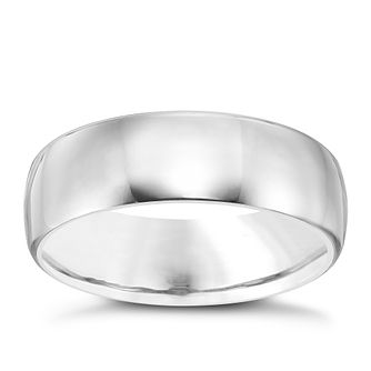 Men's Titanium 7MM Polished Band - Product number 4221907