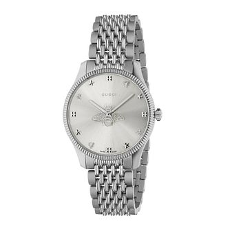 Gucci G-Timeless Stainless Steel Bracelet Watch - Product number 4226518