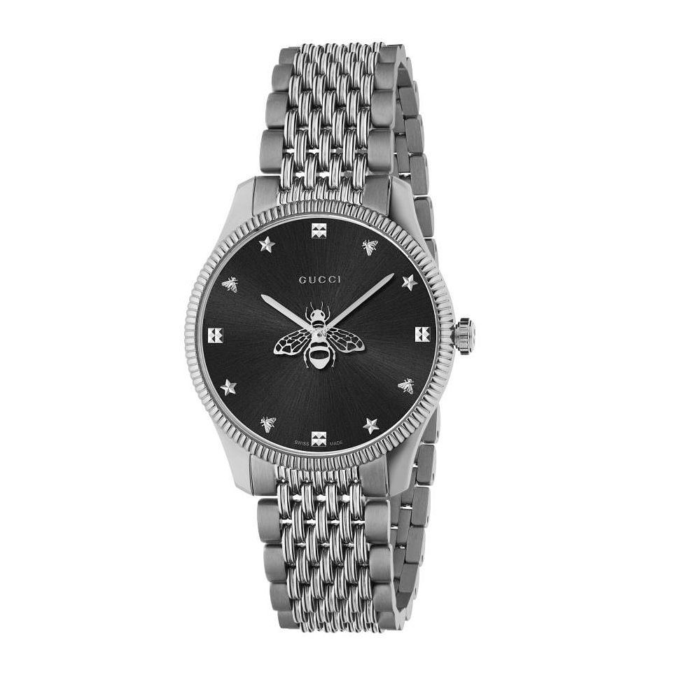 Gucci G-Timeless Slim Ladies' Stainless Steel Bracelet Watch - Product number 4226526