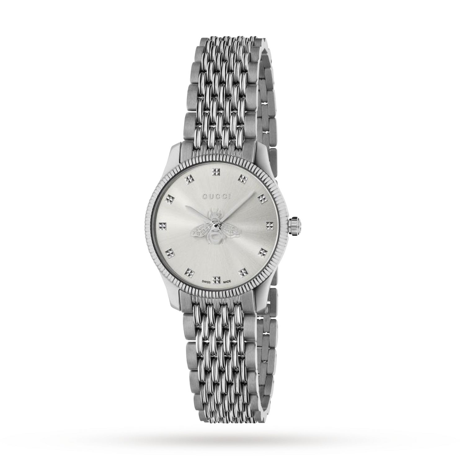 Gucci G-Timeless Ladies' Two Tone Bracelet Watch - Product number 4226585
