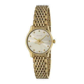 Gucci G-Timeless Ladies' Yellow Gold Tone Bracelet Watch - Product number 4226607