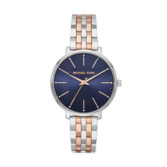 Michael Kors Pyper Ladies' Two Tone Bracelet Watch - Product number 4234502