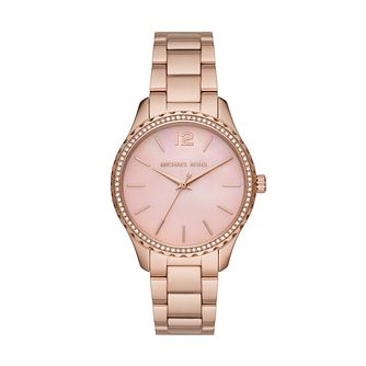 Michael Kors Layton Rose Gold Tone Bracelet Watch - Product number 4234618