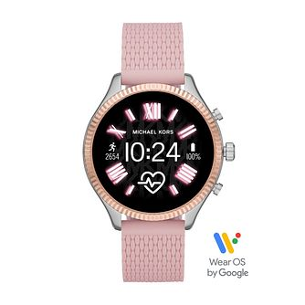 Michael Kors Access Lexington Gen 5 Pink Strap Smartwatch - Product number 4234790