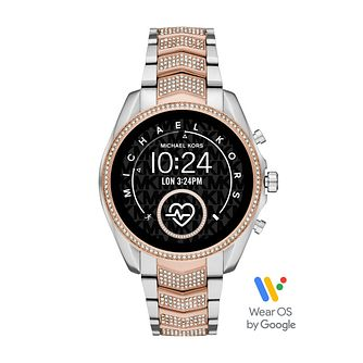 Michael Kors Access Bradshaw Gen 5 Two Tone Smartwatch - Product number 4234944