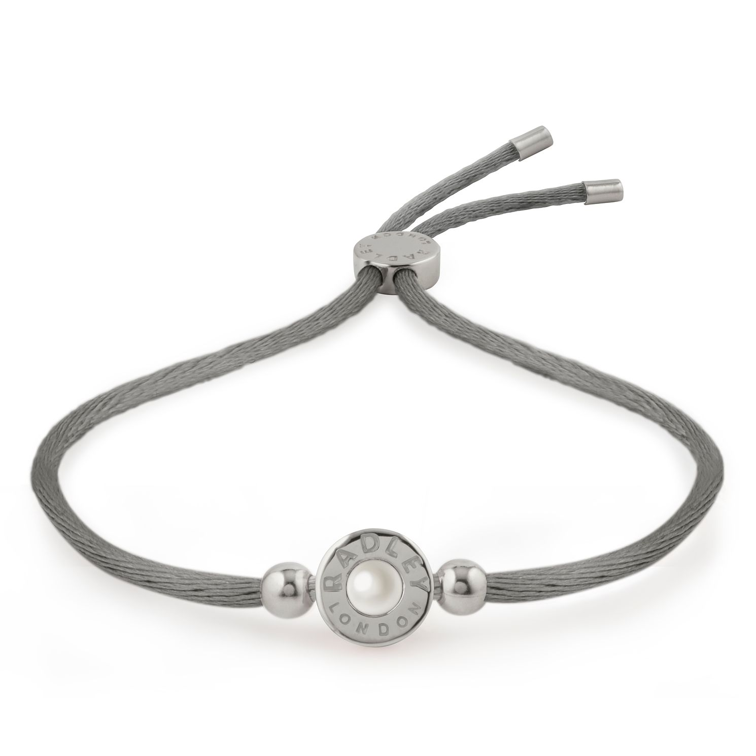 Radley Silver Rhodium Plated Pearl Bead Friendship Bracelet - Product number 4237323