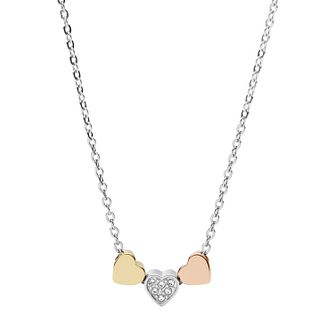 Fossil Ladies' Three Colour Vintage Stone Set Necklace - Product number 4237706