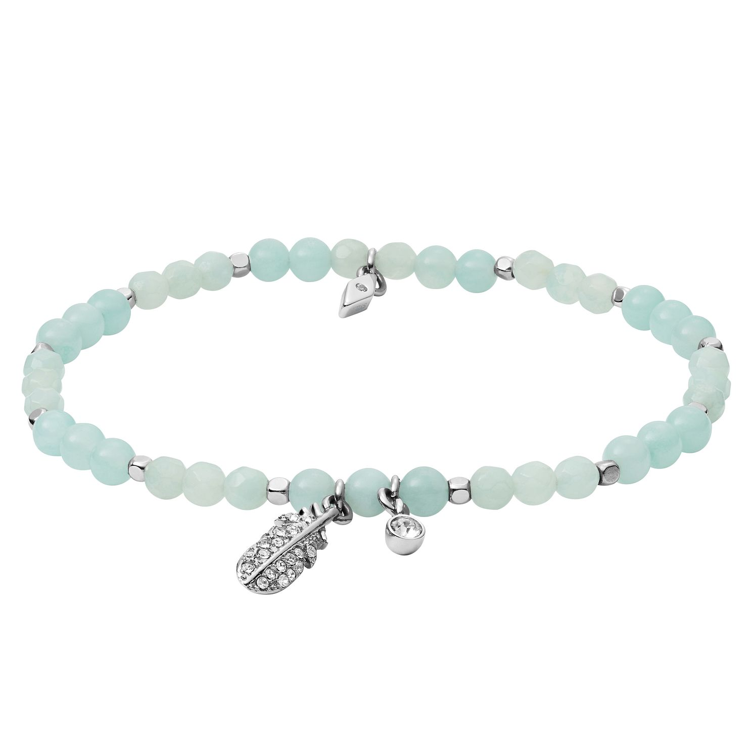 Fossil Ladies' Amazonite Wellness Bracelet - Product number 4237749