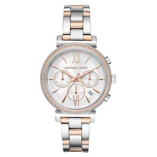 5dad6be1dde1 Michael Kors Sofie Ladies  Two Colour Bracelet Watch - Product number  4239377