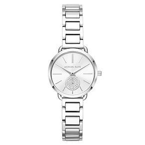 Michael Kors Portia Ladies' Stainless Steel Bracelet Watch - Product number 4239474