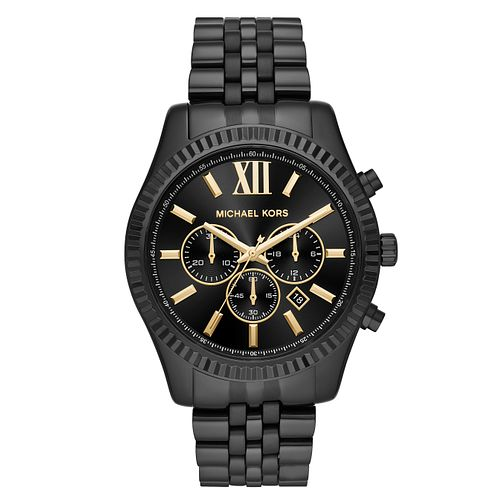 Michael Kors Lexington Men's Ion Plated Bracelet Watch - Product number 4240243
