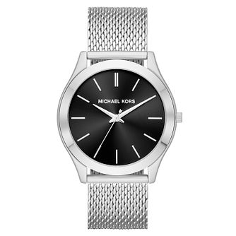 Michael Kors Slim Runway Men's Black Dial Watch - Product number 4240251