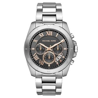 Michael Kors Brecken Men's Stainless Steel Bracelet Watch - Product number 4240286