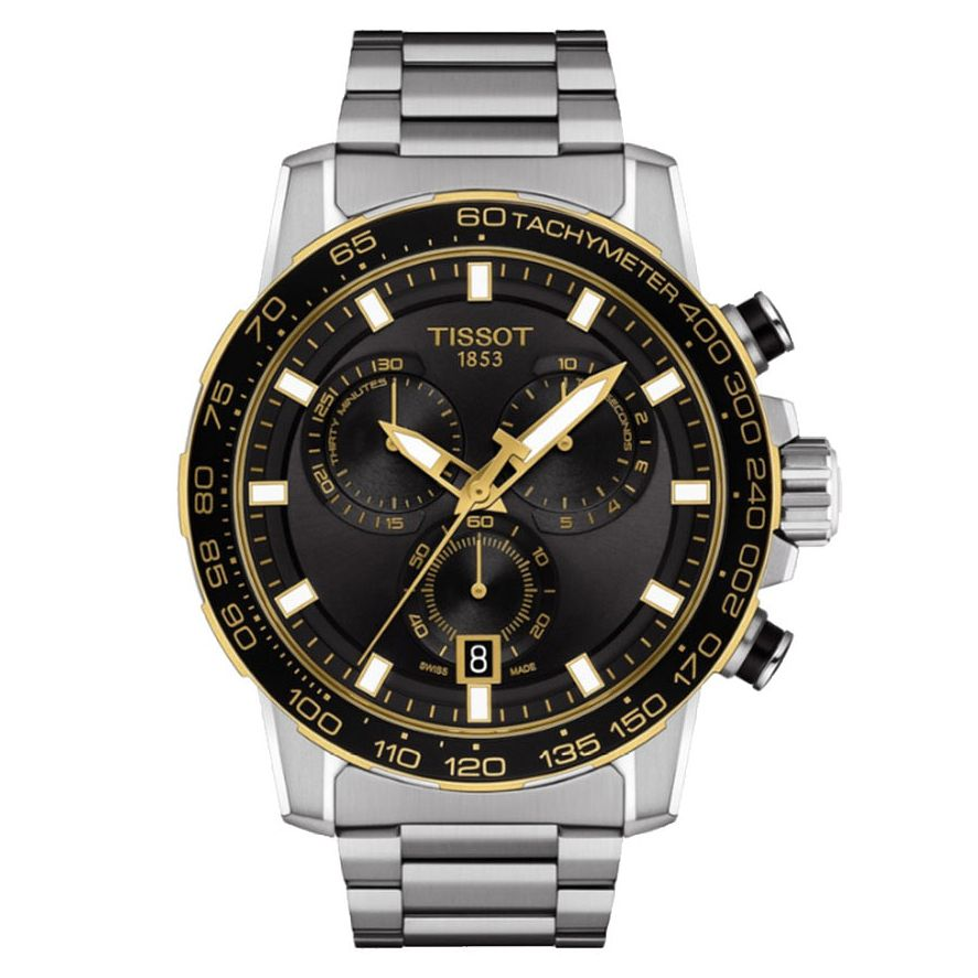 Tissot SuperSport Chrono Stainless Steel Bracelet Watch - Product number 4240359