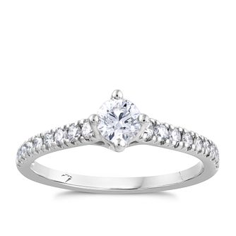 Arctic Light Platinum 0.50ct Total Diamond Ring - Product number 4245725