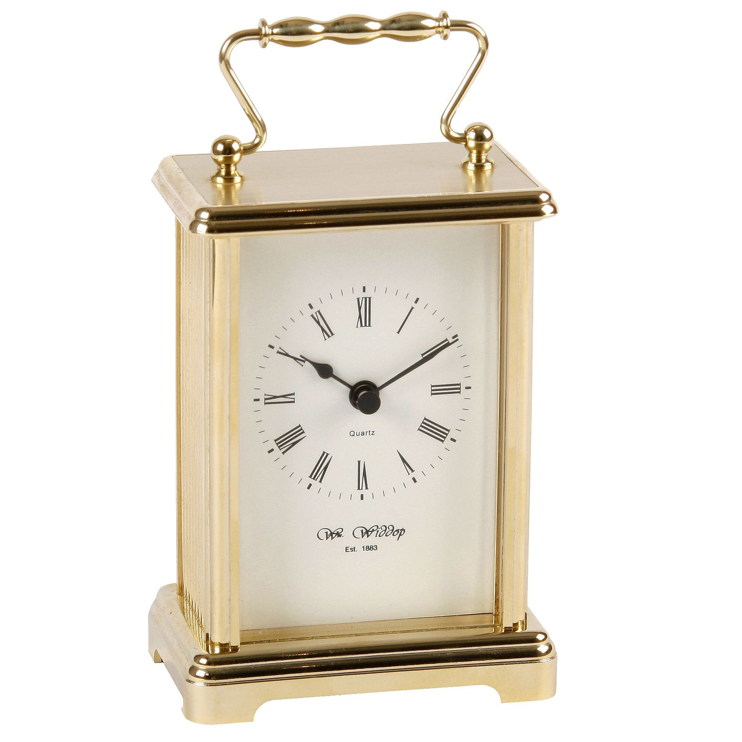 Gold Colour Carriage Clock - Product number 4246063