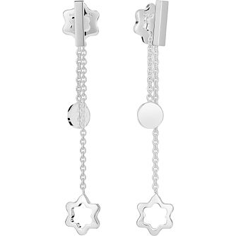 Montblanc Always Together Sterling Silver Drop Earrings - Product number 4249895