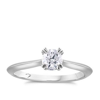 Arctic Light Platinum 2/5ct Diamond Solitaire Ring - Product number 4250419