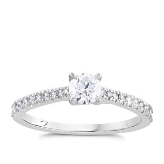 Arctic Light Platinum 0.50ct Total Diamond Ring - Product number 4252489