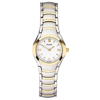 Pulsar Ladies' Two Colour Bracelet Watch - Product number 4253450