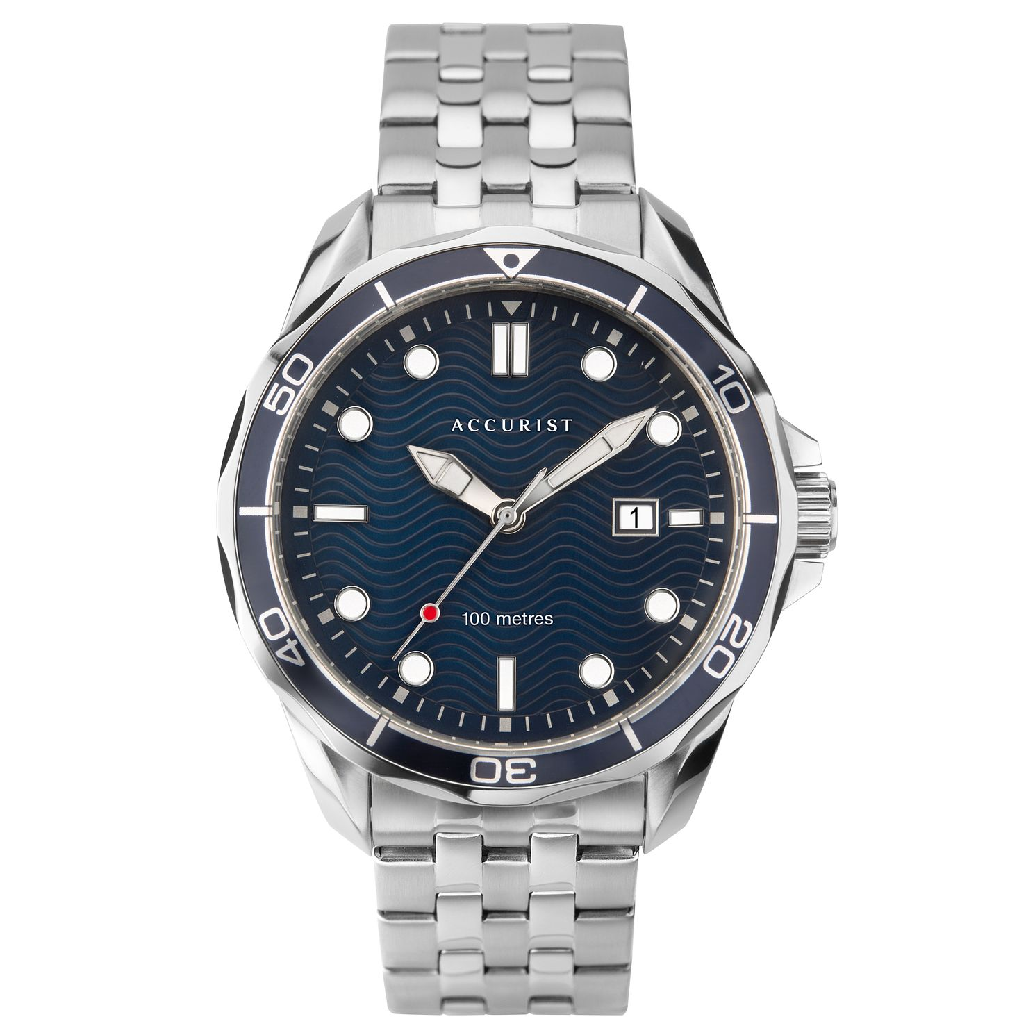 Accurist Men's Stainless Steel Bracelet Watch - Product number 4257081