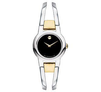 Movado Ladies' Two Colour Bracelet Watch - Product number 4261836