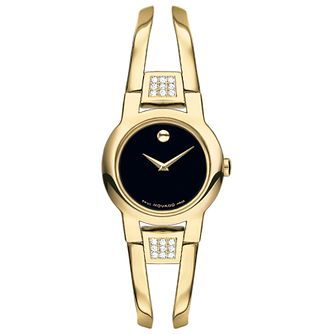 Movado Ladies' Gold Plated Bracelet Watch - Product number 4261844
