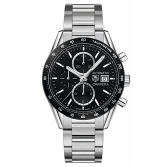 TAG Heuer Carrera Men's Stainless Steel Chronograph Watch - Product number 4264398