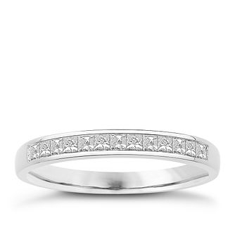 Eternal Brilliance 18ct White Gold 0.25ct Wedding Ring - Product number 4275284