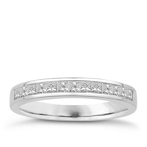 Eternal Brilliance 18ct White Gold 0.50ct Wedding Ring - Product number 4277651