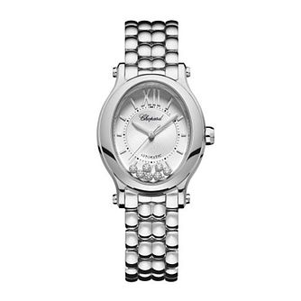 Chopard Happy Sport Oval Stainless Steel Bracelet Watch - Product number 4278909