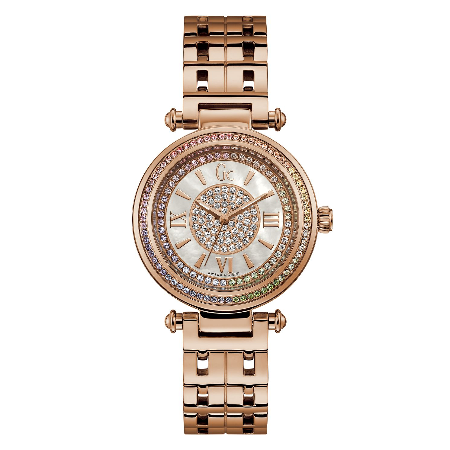Gc PrimeChic Ladies' Rose Gold Tonel Bracelet Watch - Product number 4280385
