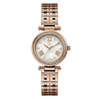 Gc PrimeChic Ladies' Rose Gold Tone Bracelet Watch - Product number 4280474