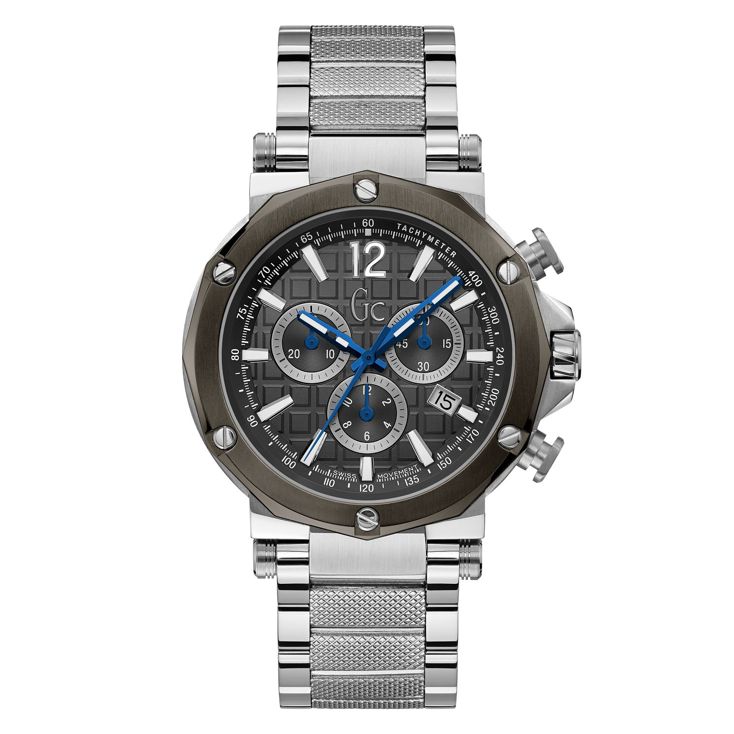 Gc Spirit Men's Stainless Steel Bracelet Watch - Product number 4280865