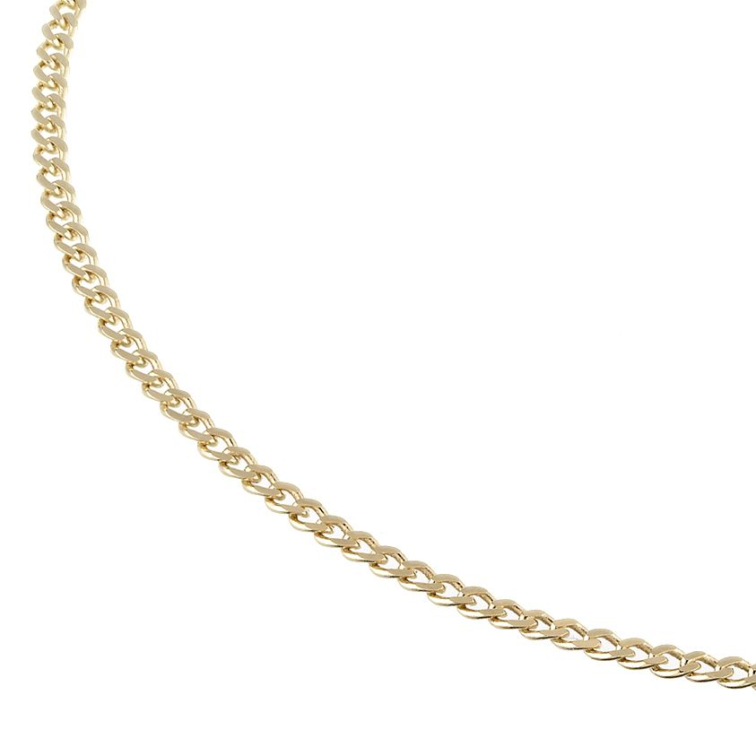 9ct Yellow Gold 20 Inch Curb Chain - Product number 4280954
