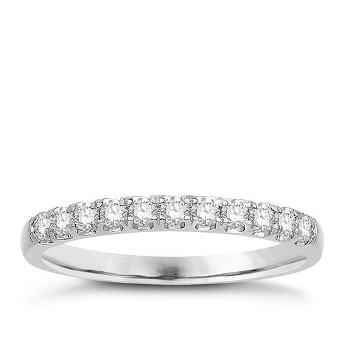 Eternal Brilliance Platinum 0.25ct Wedding Ring - Product number 4281470