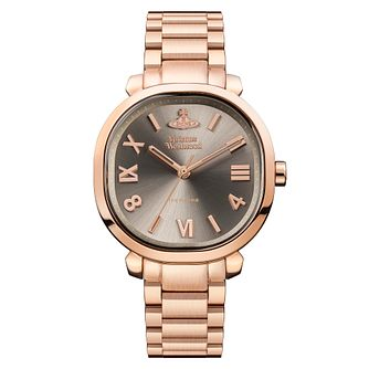 Vivienne Westwood Mayfair Rose Gold Tone Bracelet Watch - Product number 4281942