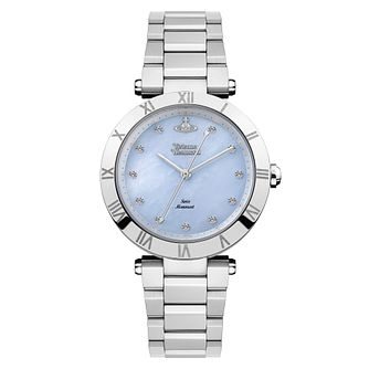 Vivienne Westwood Montagu Stainless Steel Bracelet Watch - Product number 4281950