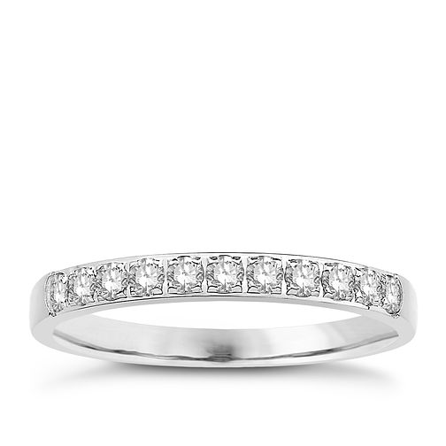 Eternal Brilliance Platinum 0.25ct Wedding Ring - Product number 4282922