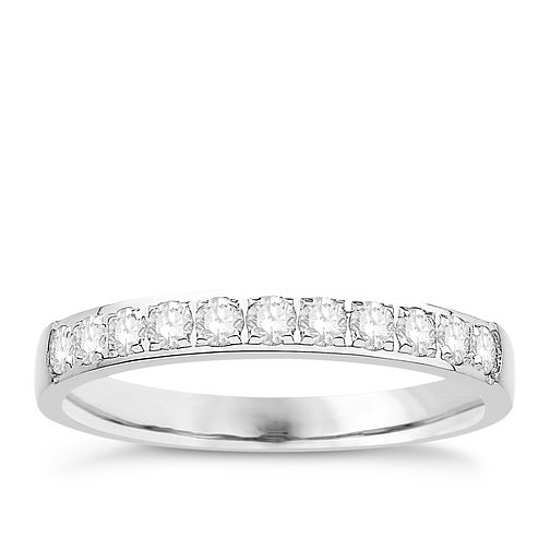 Eternal Brilliance Platinum 0.33ct Wedding Ring - Product number 4283392
