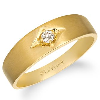Le Vian Men's 14ct Honey Gold Nude Diamond Ring - Product number 4284275