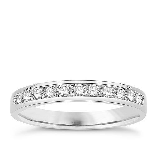 Eternal Brilliance Platinum 0.33ct Wedding Ring - Product number 4287754