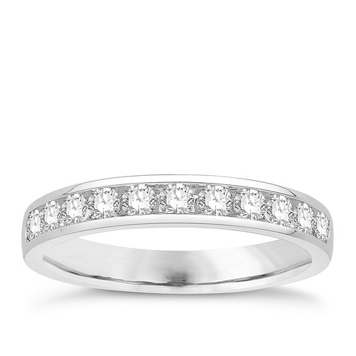 Eternal Brilliance Platinum 0.50ct Wedding Ring - Product number 4288246
